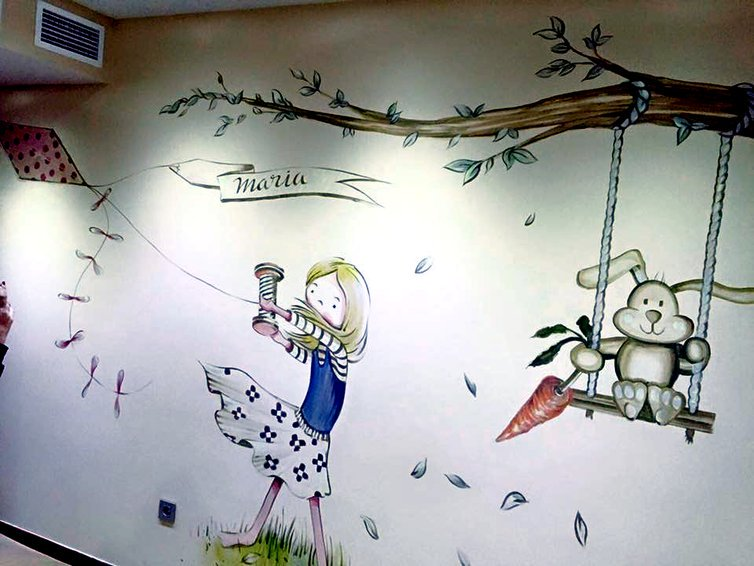Blatem On Twitter 8 Ideas Para Crear Murales Infantiles Via