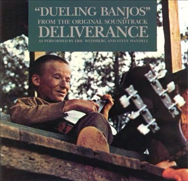 #OTD Mar17,1973 #EricWeissberg starts a 3wk run at #1 on the US album chart with &quot;Dueling Banjos&quot; From the film &quot;Deliverance&quot; Dueling Banjos scene Video==&gt;  https:// youtu.be/gsC4kf6x_Q0  &nbsp;  <br>http://pic.twitter.com/E7TKvkgRsM