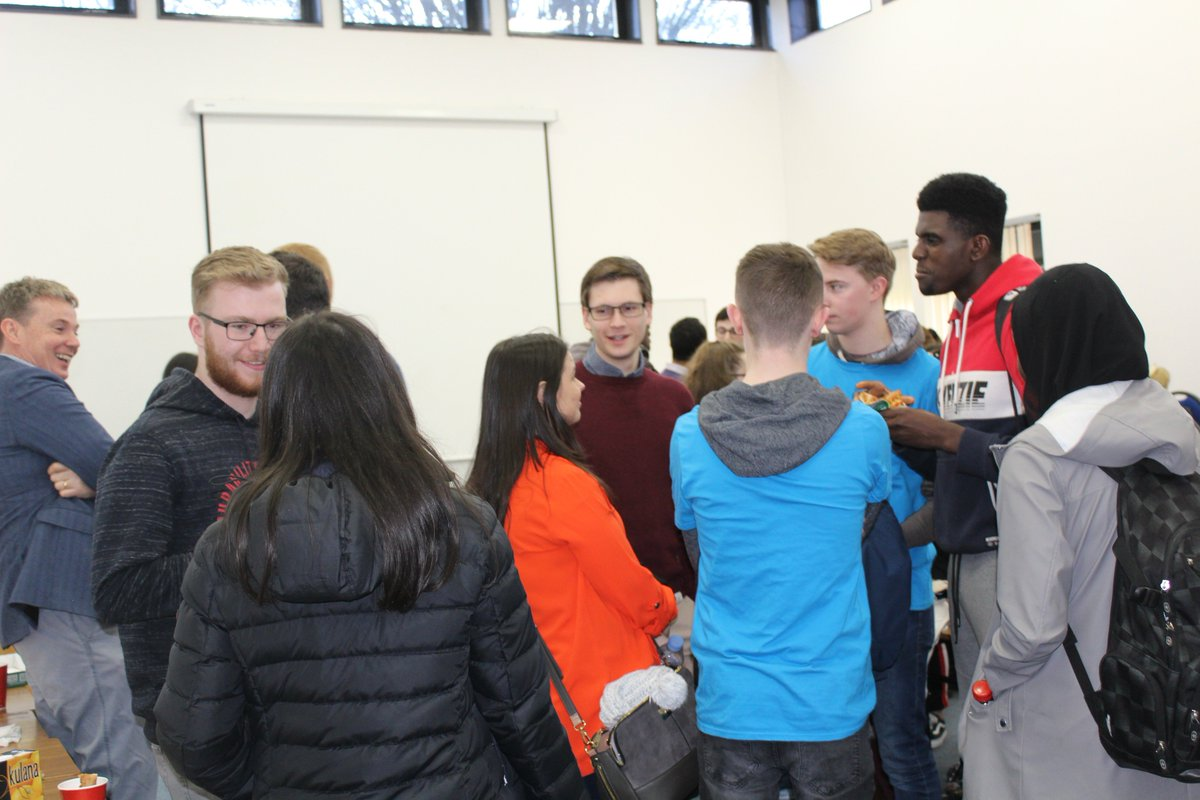 Here's a few snaps from our recent (BCL) @MaynoothLaw & @MU_Business Pizza Social event held in the School of Business. Thank you to the Business Programme Director Dr Rigot-Muller & also a special thanks (as always) to @SupermacsIRE Maynooth for the delicious pizza.