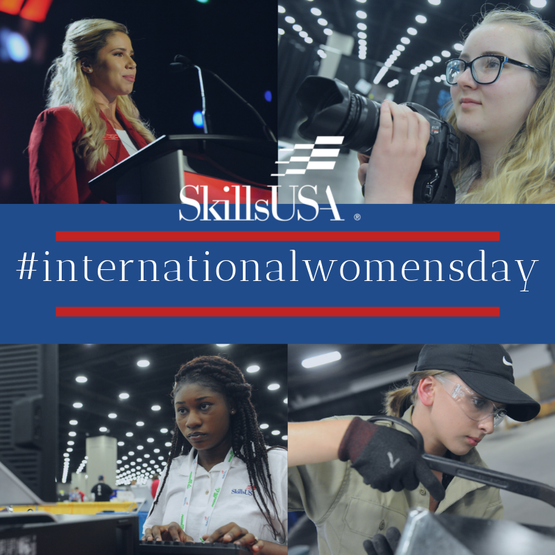 Today is #InternationalWomansDay! Let's celebrate the strong and hardworking women in skilled trades.