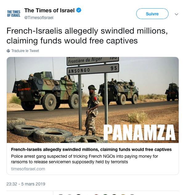 Des Franco-Israéliens volent des millions d'euros à des ONG françaises: silence de la presse hexagonale