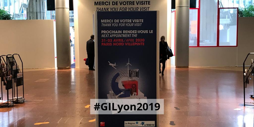 #GILyon2019 ferme ses portes, après 4 jours de rencontres, animations, événements, démonstrations... Un grand merci aux très nombreux visiteurs et RDV en 2020... à Paris ! https://t.co/hxWAP7vhIB