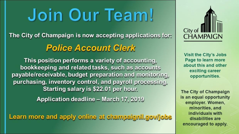 Police clerk salary