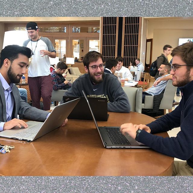 Muhammad Ammar, Sebastian Fischbach, and Andrew Bowers (all MSBA '19) were top 3 finalists in the MIT sports analytics conference hackathon last weekend. You can read more in our newsroom and find out how they helped Wake Forest Athletics with their #bus… https://t.co/Ksj1yRKLlM