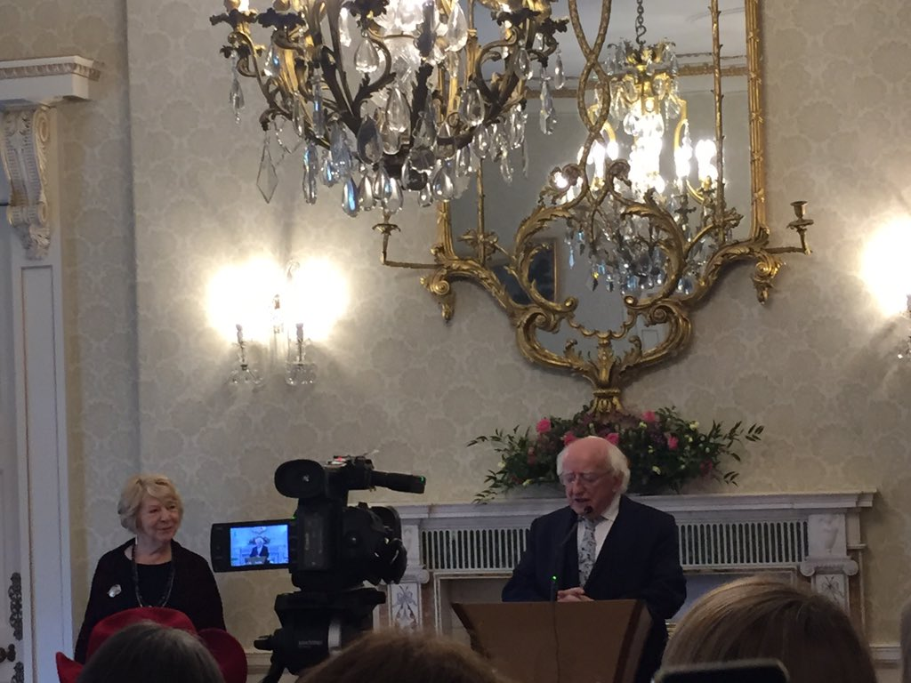 MD Higgins tells us that we can not wait for some kind of evolution on women rights, worryingly underrepresented in sciences. Need to value women's Wisdom and science that goes far deeper than any Cartesian moment. #IWWD2019 @MaynoothUni @MU_Education #BScEd #WomenInScience