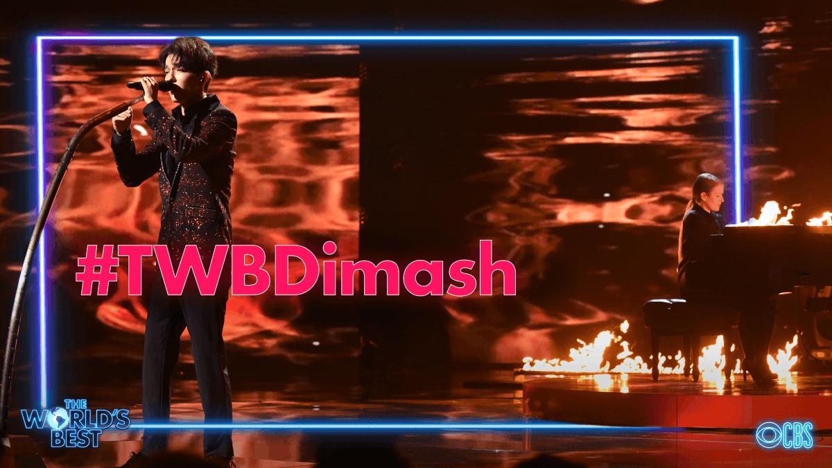 Tweet using #TWBDimash if The Six Octave Man was your favorite #WorldsBest performer!