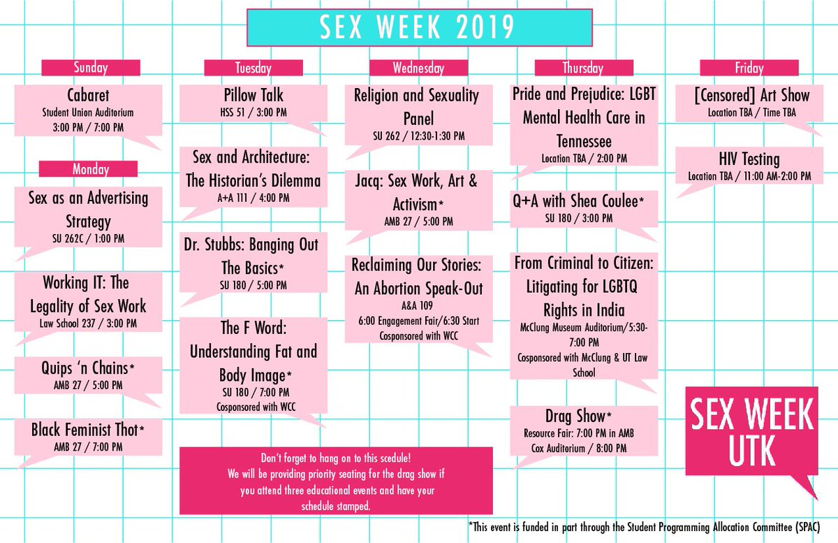 Mtsu Health Promotion Offers Sexual Responsibility Week Events Mtsu News