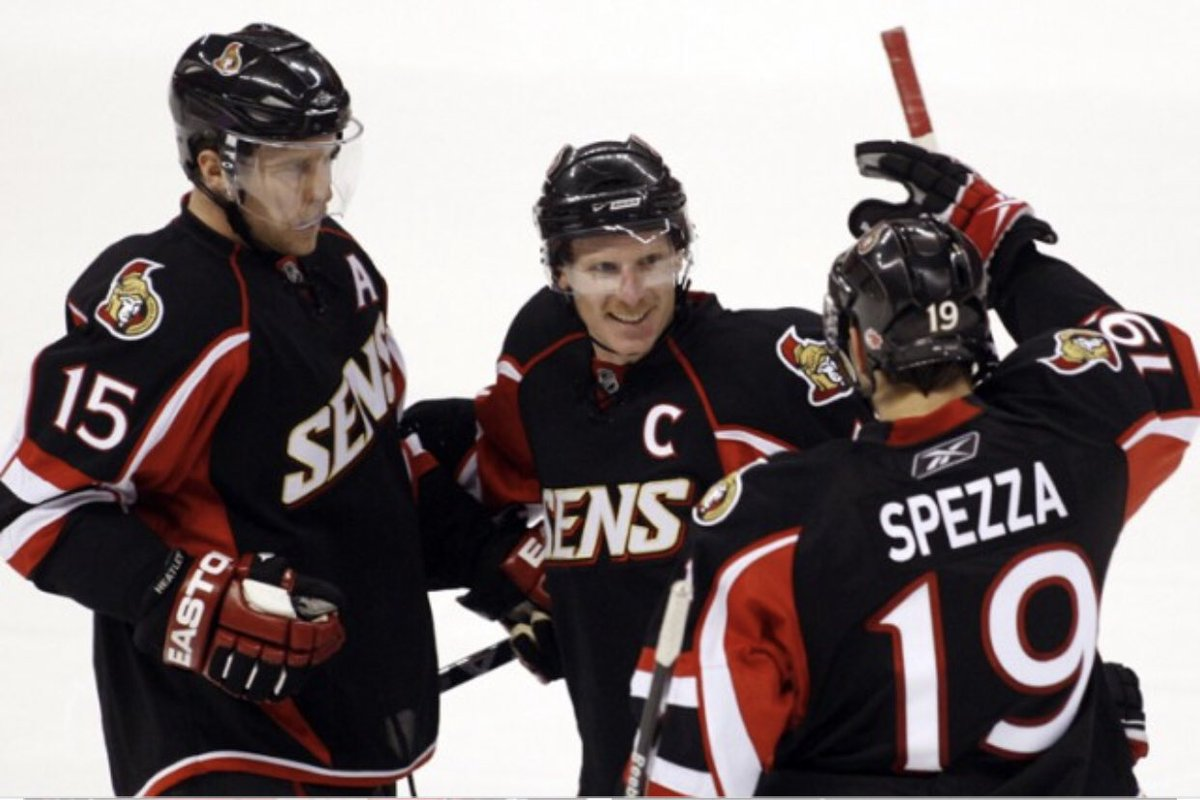 3154bfd3a9d Martin Gerber got the win for the Senators who improved to 38-25-7 on the  season.pic.twitter.com JX9cWK2tUn
