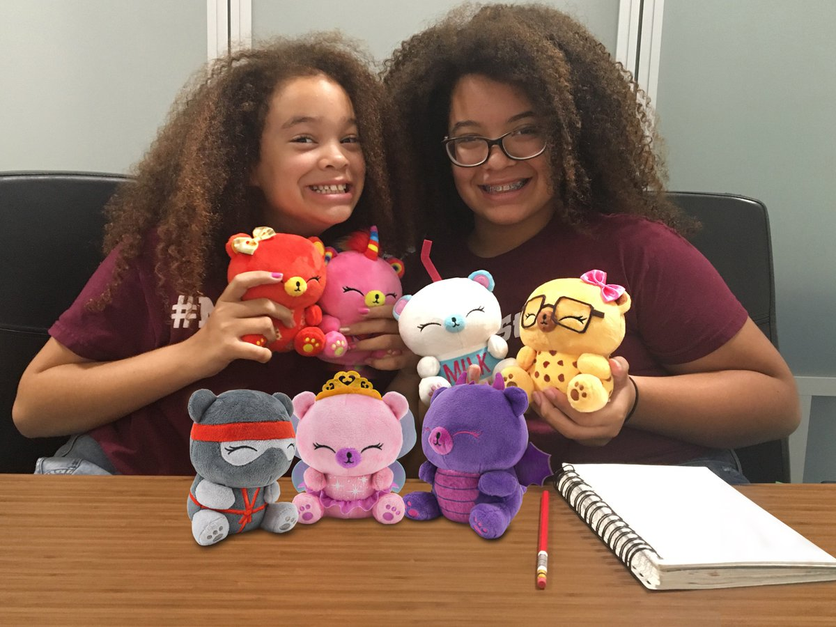 Happy International Women's Day! Today we celebrate women big and small, including our very own kid-venters, Carmin and Sage, creators of the collectible, huggable, and lovable MeBears! Coming soon to retailers near you! #IWD2019 #InternationalWomensDay