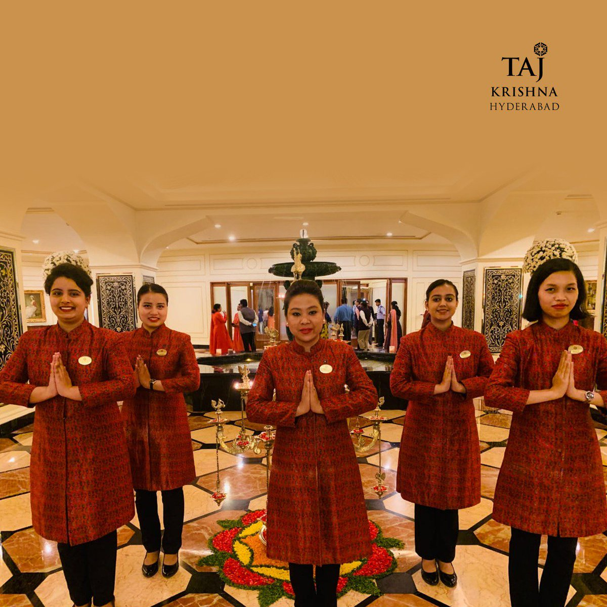 It was a celebration. Indeed. Warm smiles and love. All the way  #HappyWomensDay . . . #TajKrishnaHyderabad #womeninpower #InternationalWomensDay #TajKrishna #BalanceForBetter