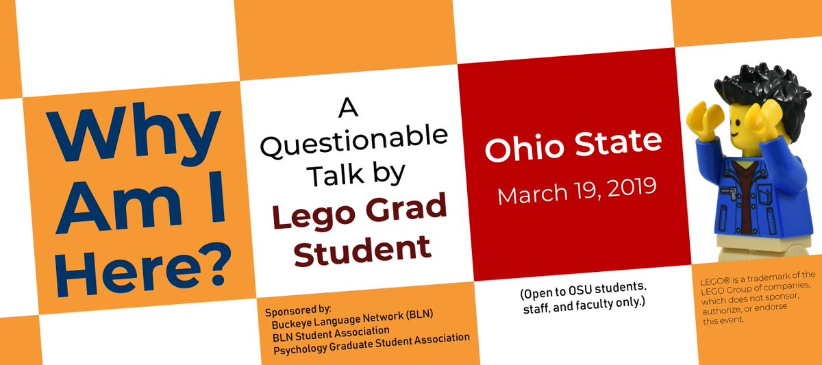 I'm coming for you, @OhioState! I'm super excited about this. The talk will be from 5:30 to 7:00 PM. More details on their way very soon.