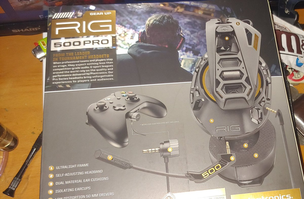 Rig 500 Pro Xbox One Set Up