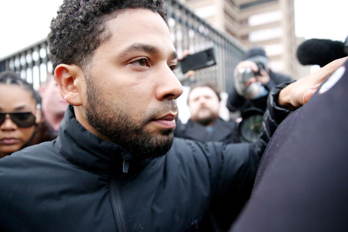 Jussie Smollett indicted on 16 felony counts of disorderly conduct