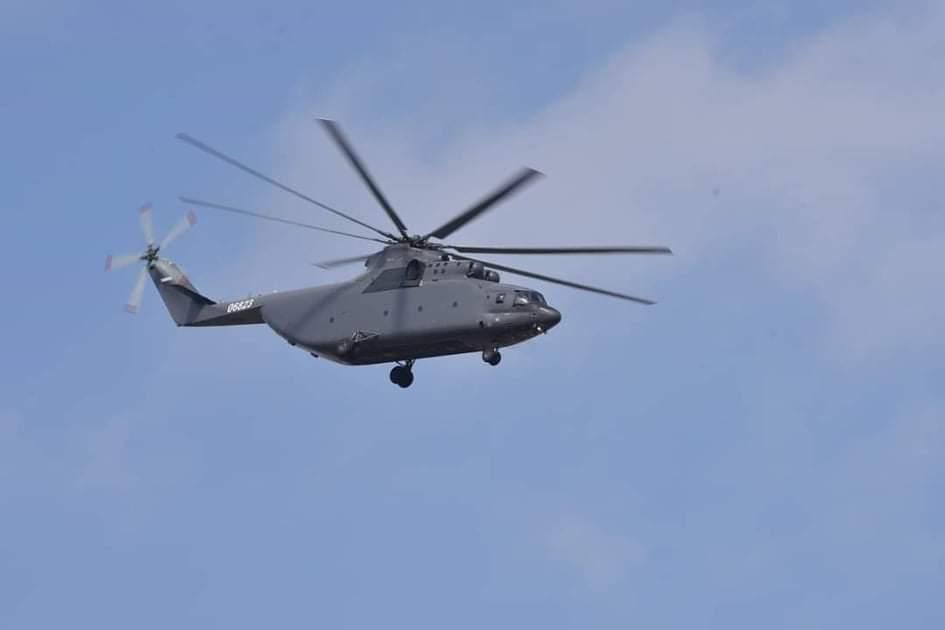 الاردن يوقع صفقه لشراء 4 مروحيات Mi-26T2 من روسيا  D1KHUd6XcAIEF93