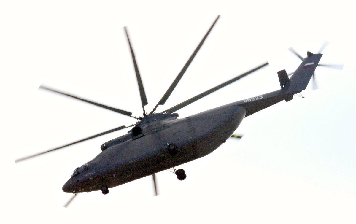 الاردن يوقع صفقه لشراء 4 مروحيات Mi-26T2 من روسيا  D1KHUn9X0AIX4J1