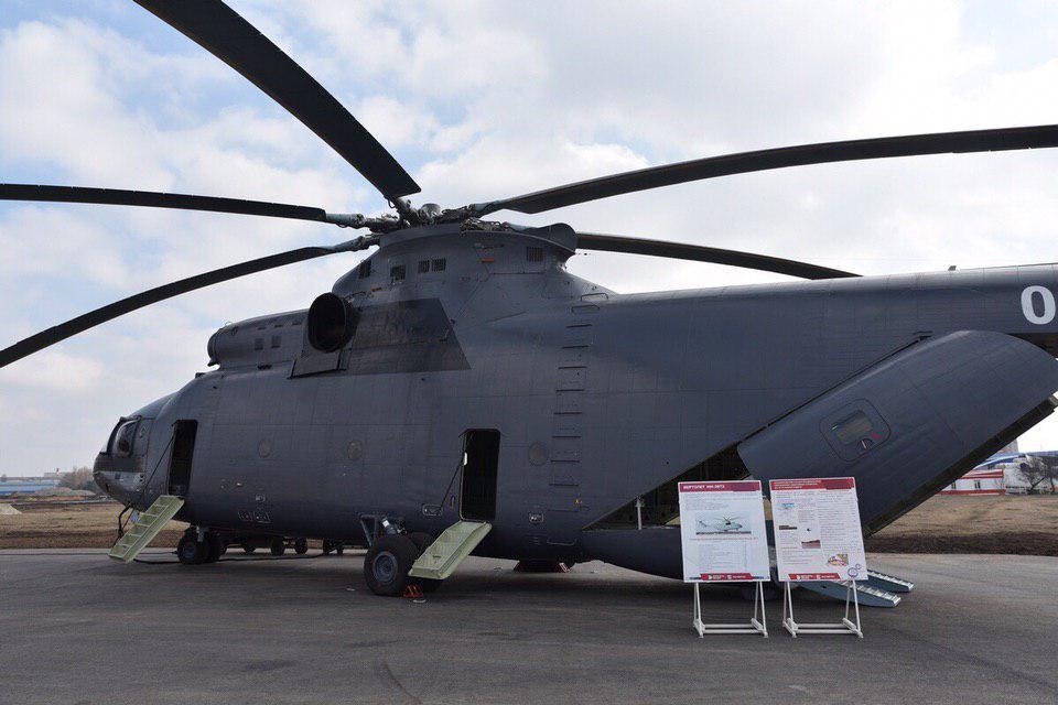 الاردن يوقع صفقه لشراء 4 مروحيات Mi-26T2 من روسيا  D1KHVKsW0AAmr8v