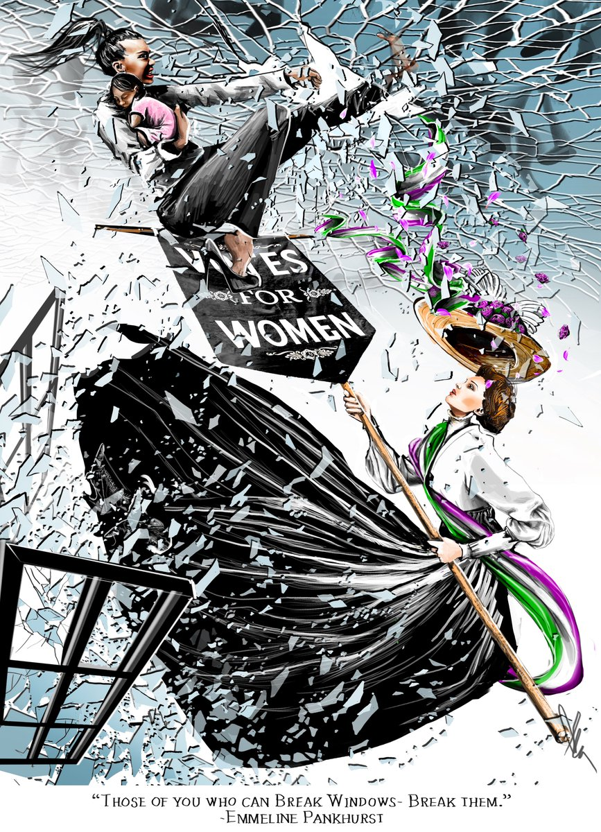 #InternationalWomensDay (drawn originally for @TheTLS)