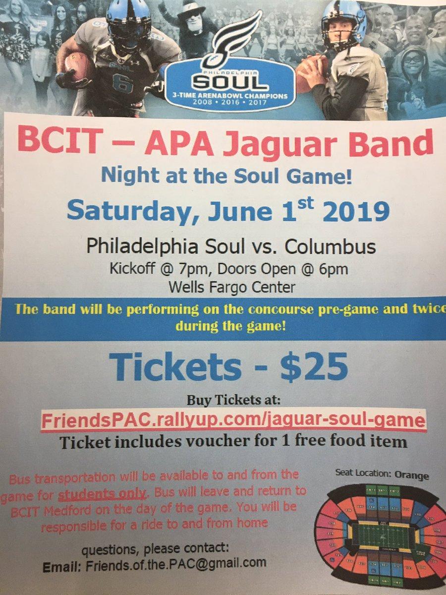 Support the Jaguar Band.