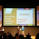 Image for the Tweet beginning: .@BANKEX STO Frameworks just won