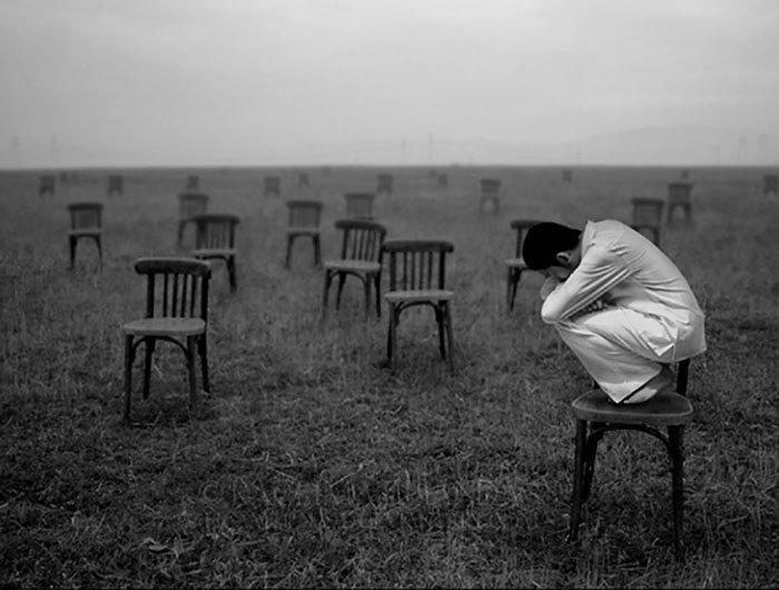 Картинки одиночества и пустоты, спокойной
