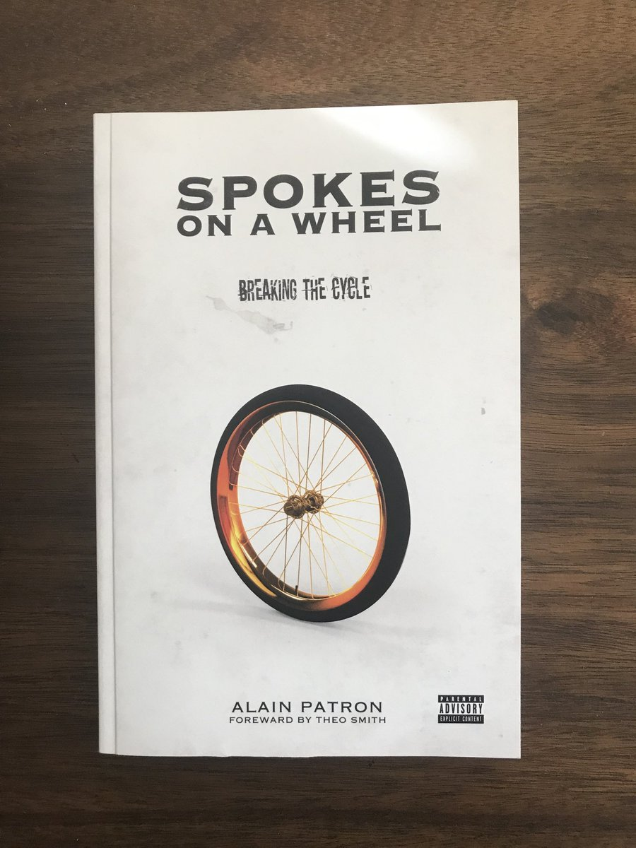 Spokes On A Wheel, my 8th book is now available for purchase here: http://bit.ly/2SYUkKQ    This isn't a self-help book; it's a book of empowerment written with provocative truths. I want us to be one of one, not one of them.   Our culture is no longer their business.