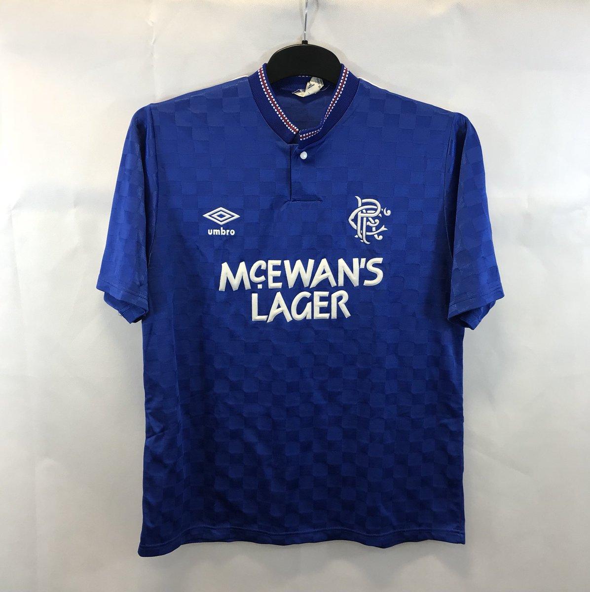 915dc5e45 Rangers Home Football Shirt 1987 90 Adults Medium Umbro  http   historicfootballshirts.co.uk shop rangers-football-shirt -1987-88-adults-medium-umbro  …