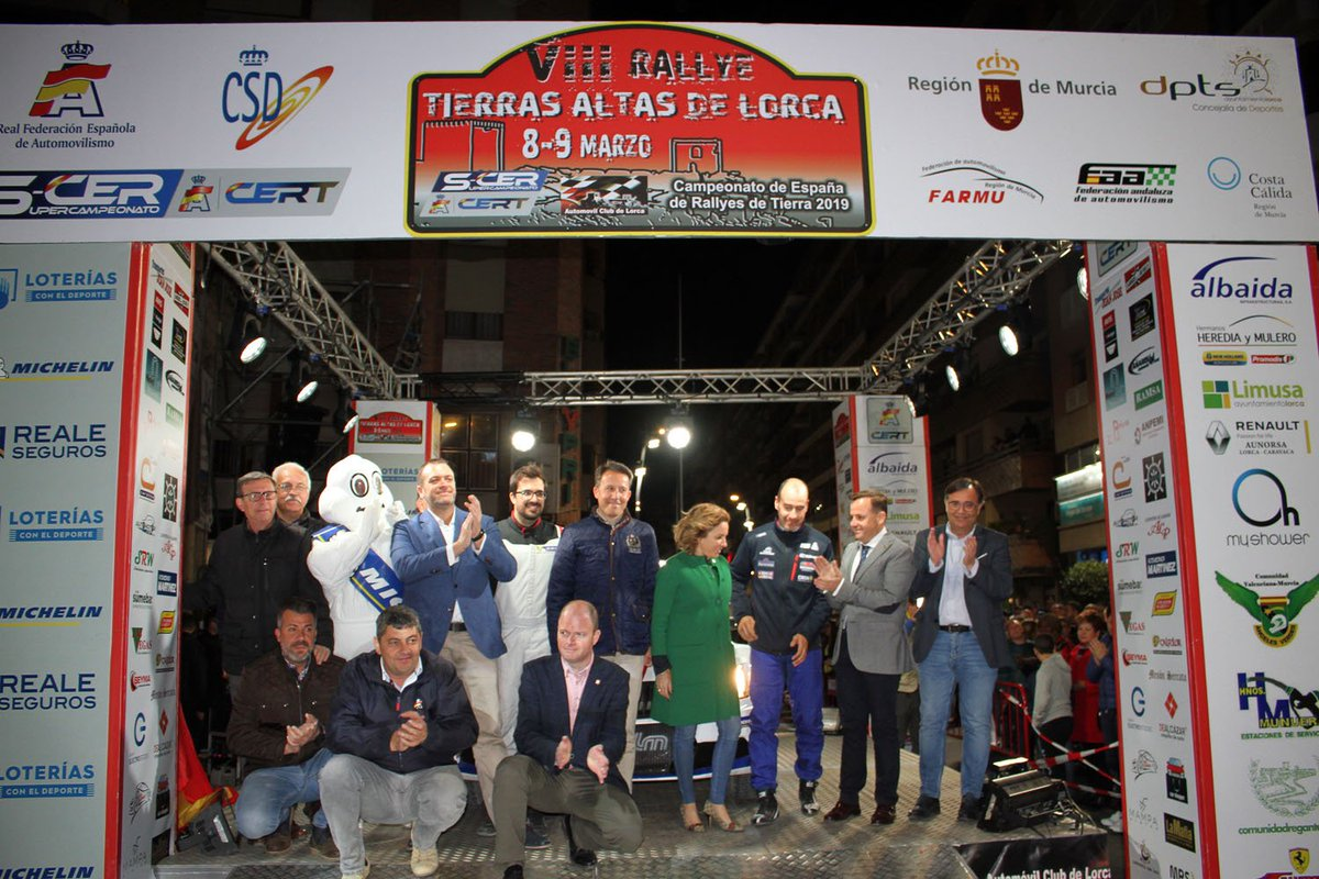 SCER + CERT: VIII Rallye Tierras Altas de Lorca [8-9 Marzo] D1KvbAjWoAQtzET