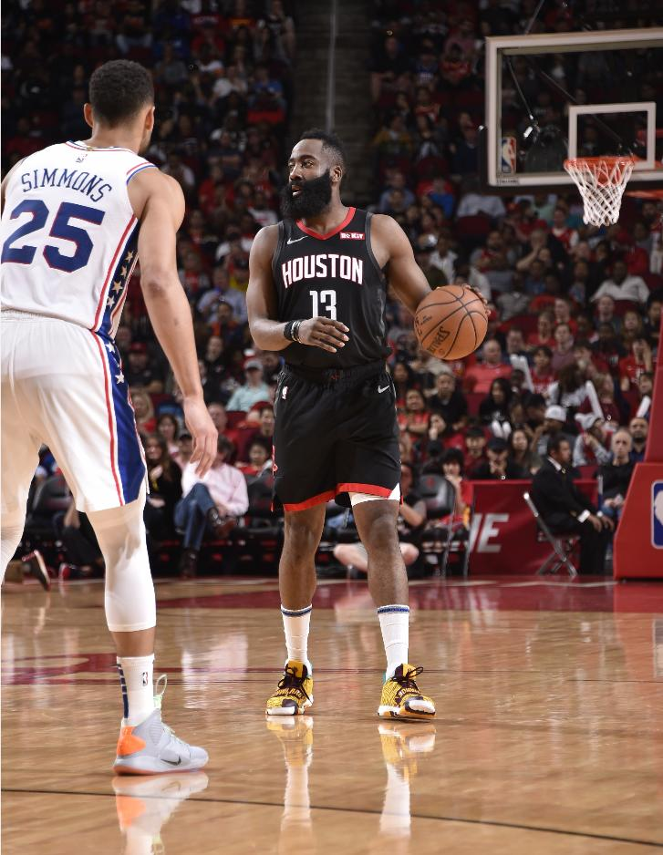 83431ac0d7f8 The Houston Rockets overcame an off night from James Harden to extend their winning  streak to a season-best eight games with a 94-93 victory over the Dallas ...