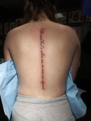 tattooquotes hashtag on Twitter
