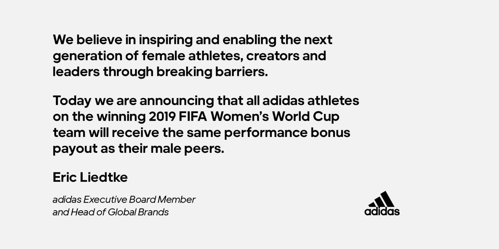 adidas athletes world