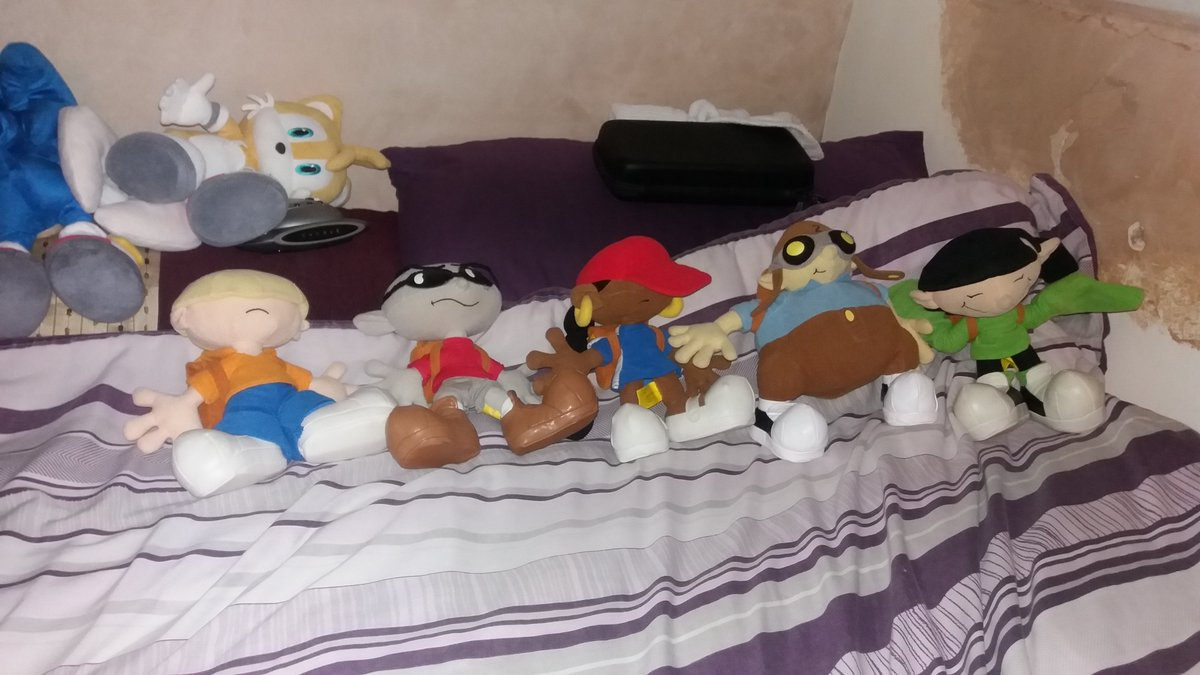 KND Sector V Plushies