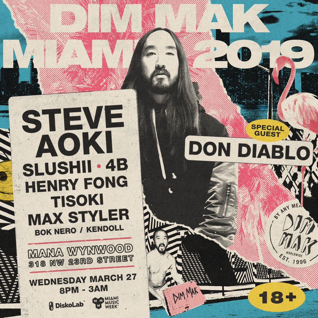 ALWAYS a good time with my brother @steveaoki 😎😎 See you SOON Miami! https://tinyurl.com/DDxDimMak