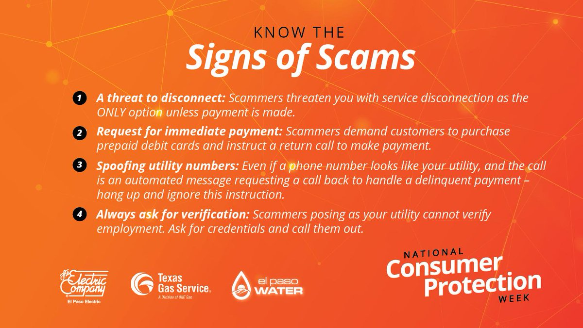 Each Year Scammers Get More Creative And Persistent In Their Ways To Cheat You Including Posing As Your Local Utility