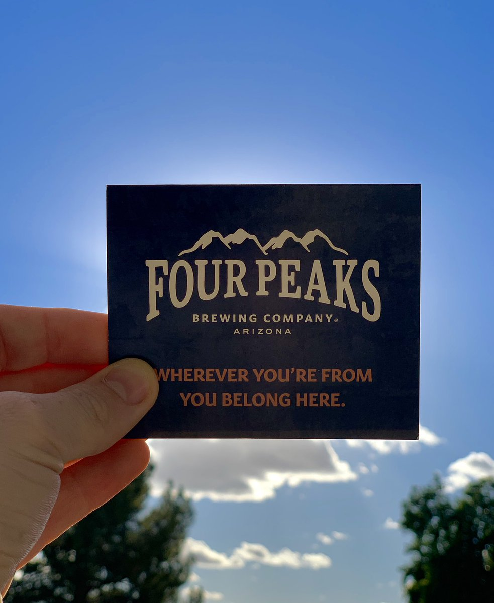 Shoutout to @fourpeaksbrew for the gift card! Super excited to try it out! :) 🍻🍔