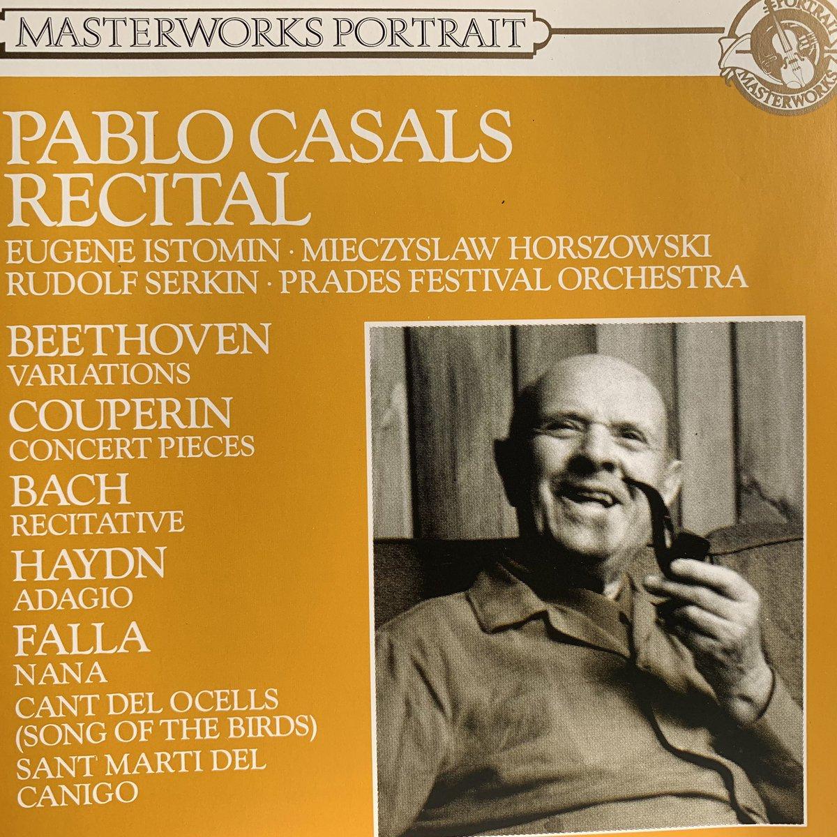 パブロ・カザルス リサイタル 録音: 1951年、1961年