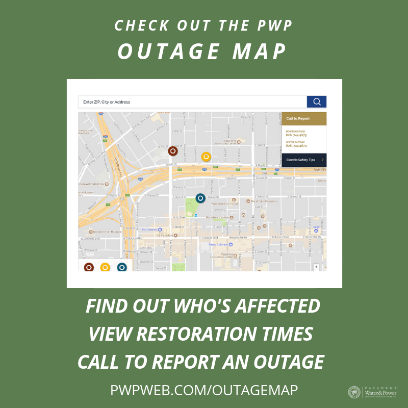 Power Outage Map Al.Pasadena Water Power Pwpnews Twitter
