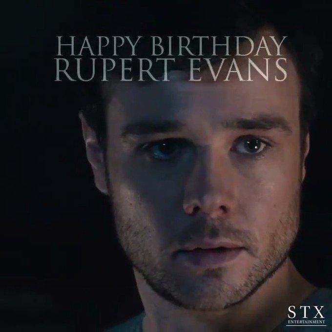 Happy Birthday Rupert Evans!