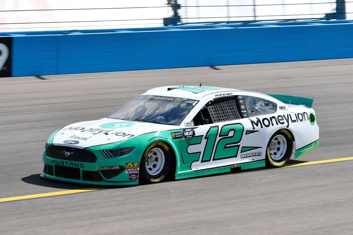 Nice to get our first pole of the year. Really great to have @moneylionracing with us for their first cup race.