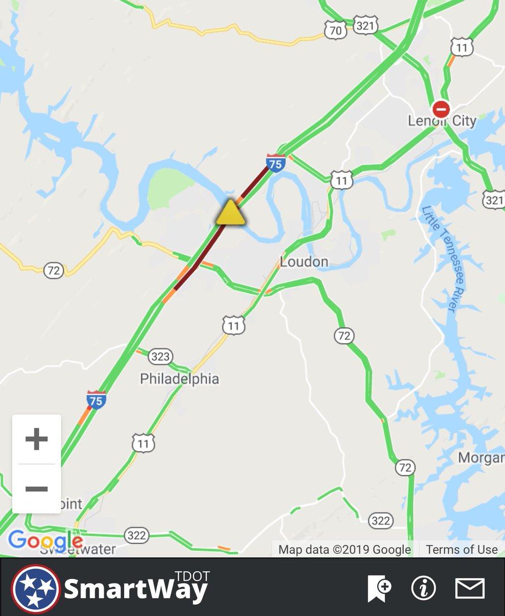 Knoxville Traffic Map.Wate Traffic Watetraffic Twitter