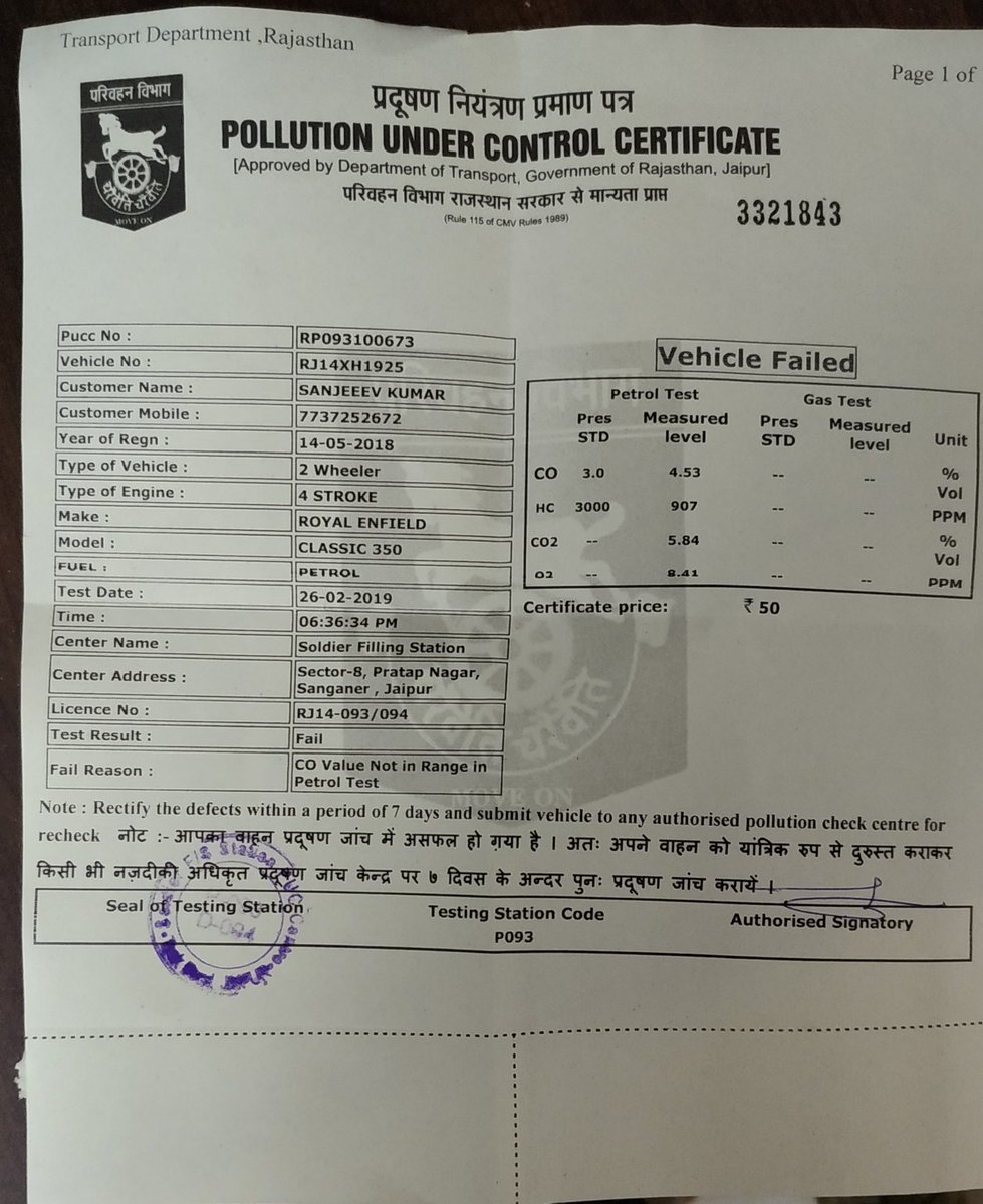 Royal Enfield datant certificat datant de tissu Calico