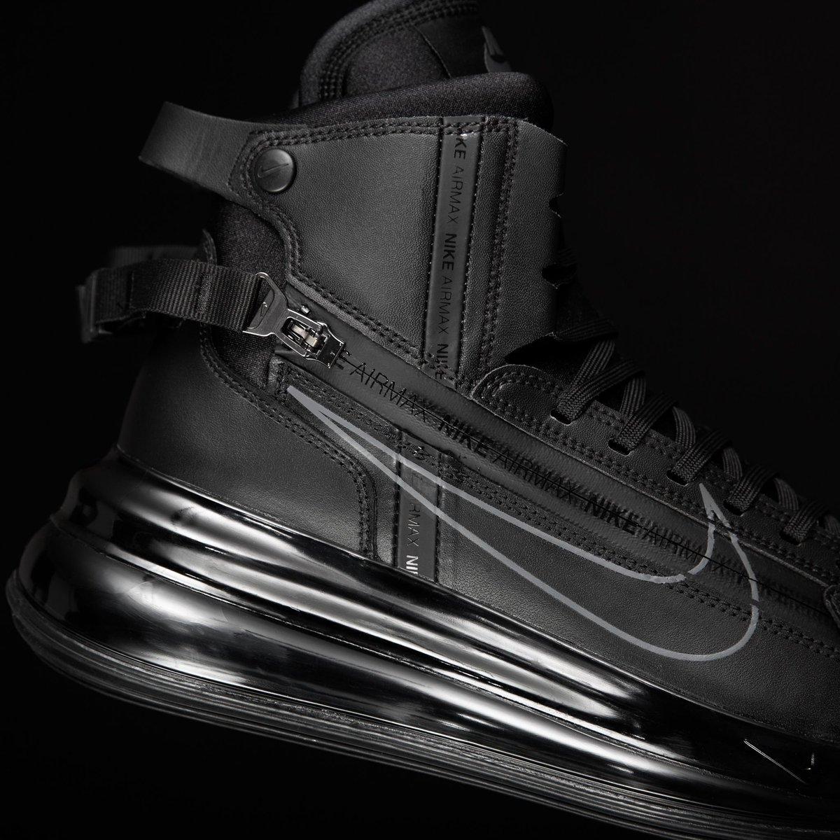 Nike Air Max 720 Saturn Black Dark Grey Footshop  Footshop