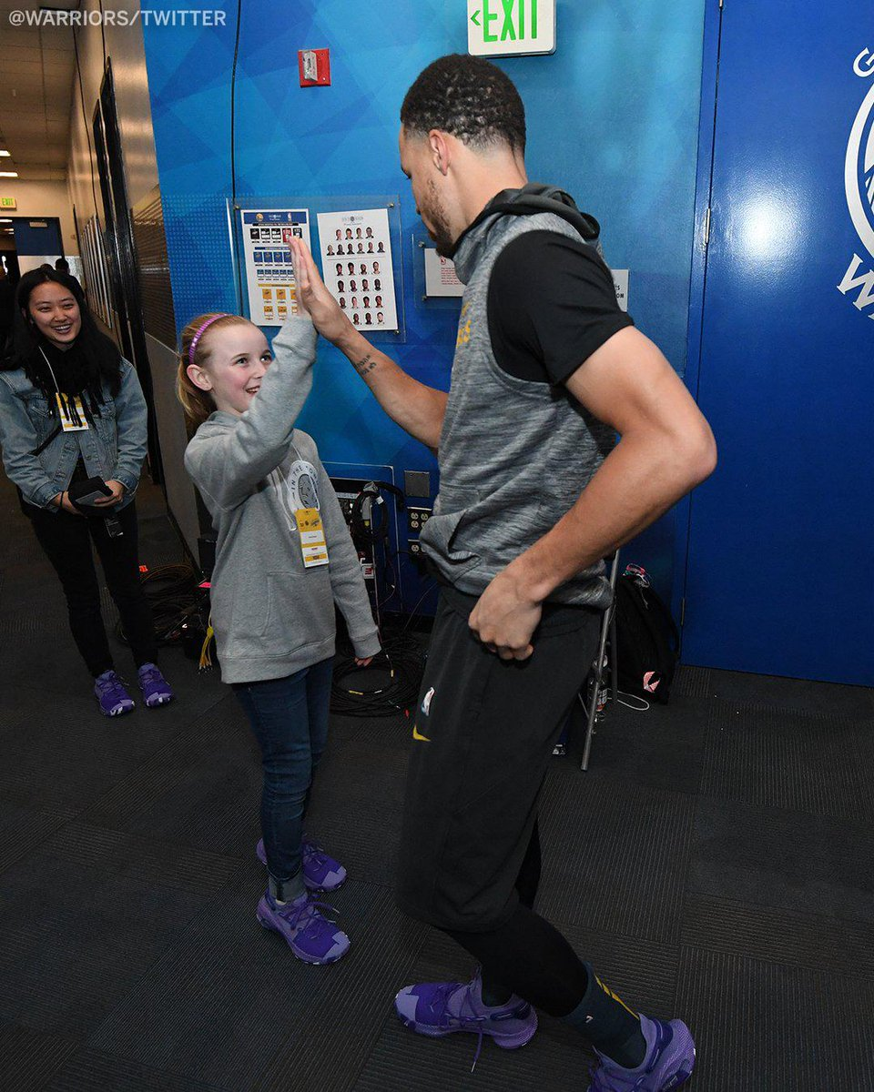 Riley Morrison wrote Steph Curry