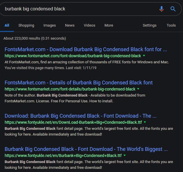 Fortnite Font Download Photoshop Burbank Fonts Free Download