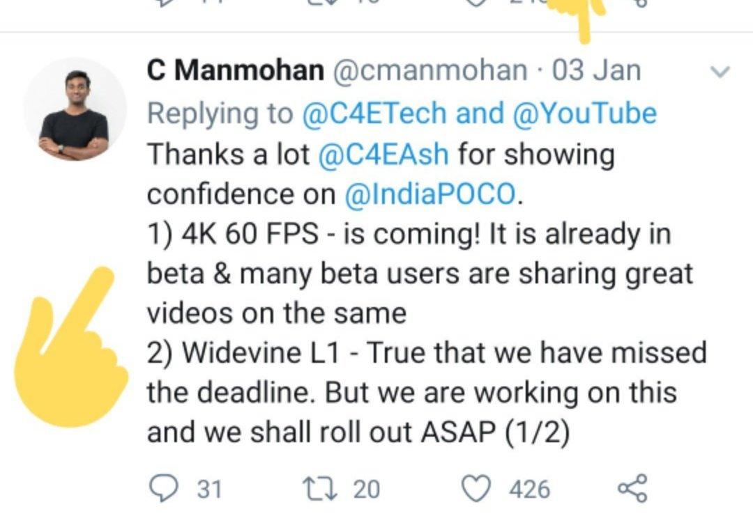 POCO India on Twitter: