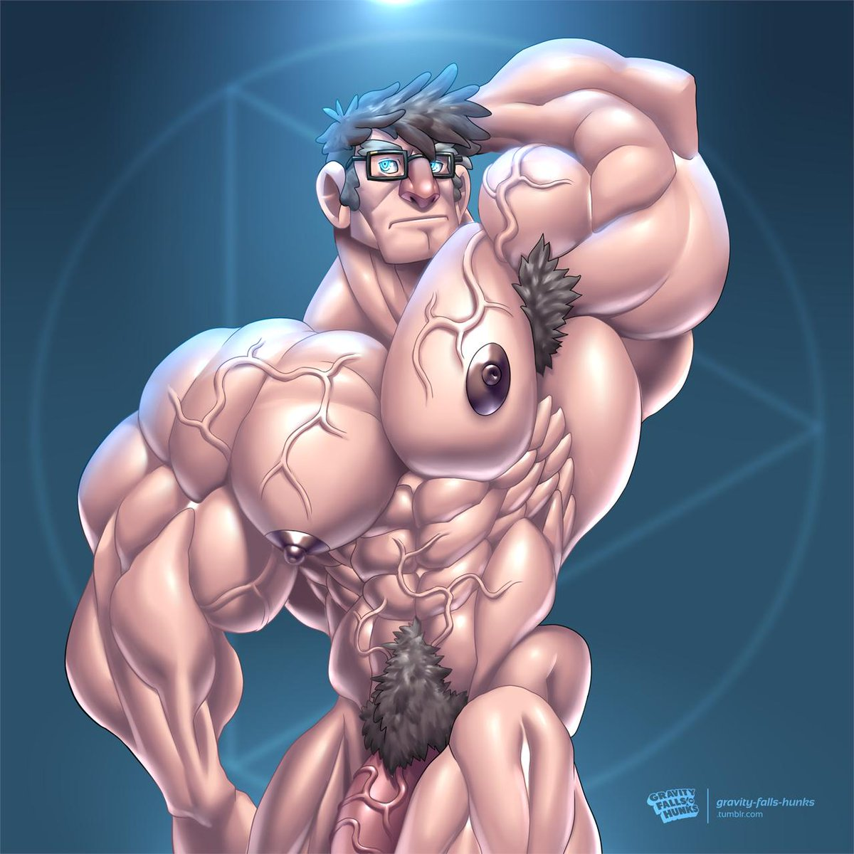 Erotic male muscle growth