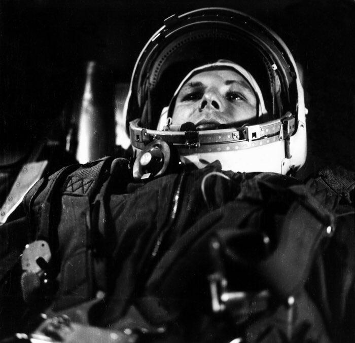 Гагарин первый полет картинка