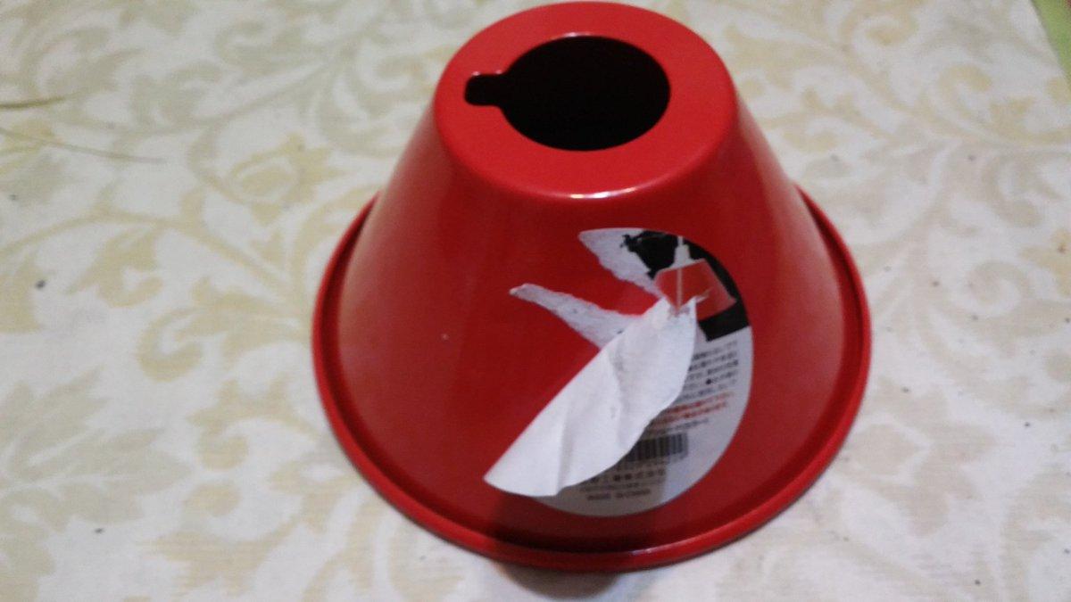 test ツイッターメディア - #セリア  おしゃれランプシェード買って来たの!  紙シールやめてくれ~……  タグもしくは剥がしやすいビニールシールにして~…… https://t.co/mStHyFBAD9