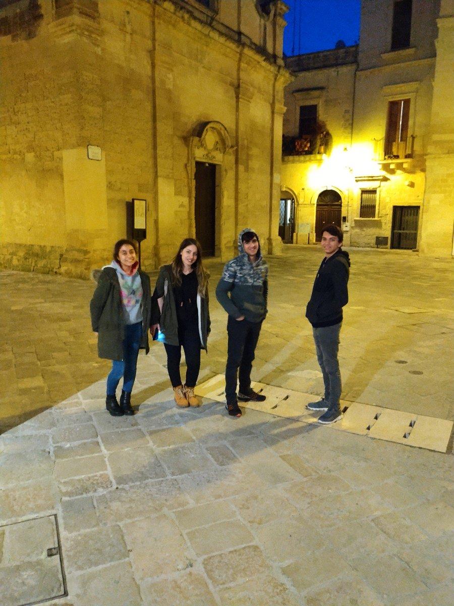 """""""Hafif Düzey Zihinsel Engelli Öğrencilerin Mesleki Becerilerini Geliştirmeye Yönelik Avrupa Çalışmaları"""" başlıklı Erasmus+ projesi kapsamında İtalya'nın Lecce şehrine giden öğrencilerimiz 25 Şubat-9 Mart arasında eğitimlerini tamamladılar. #erasmus #lecce #spa #özeleğitim #italia"""