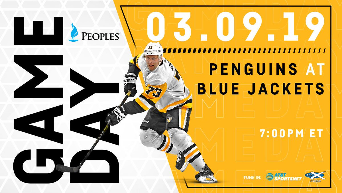 72f42be838c Game day graphic with cutout of Jack Johnson. The puck drops at 7 00PM