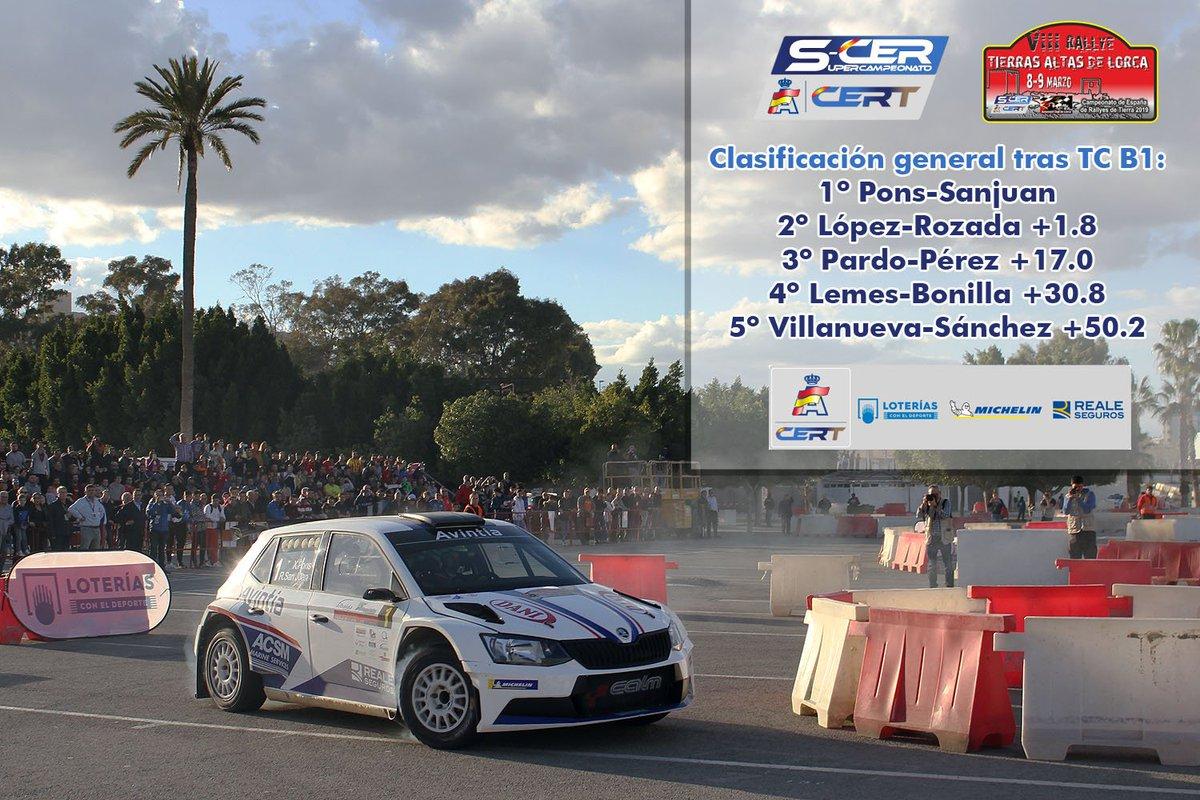 SCER + CERT: VIII Rallye Tierras Altas de Lorca [8-9 Marzo] - Página 2 D1NHfAVXcAE97h5
